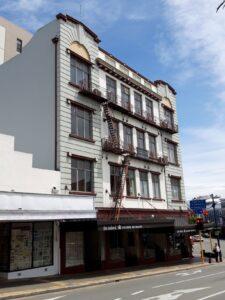 20191219_114203 - Neuseeland - Canterbury - Timaru - Restaurant The Oxford - 1925 - historisches Gebäude