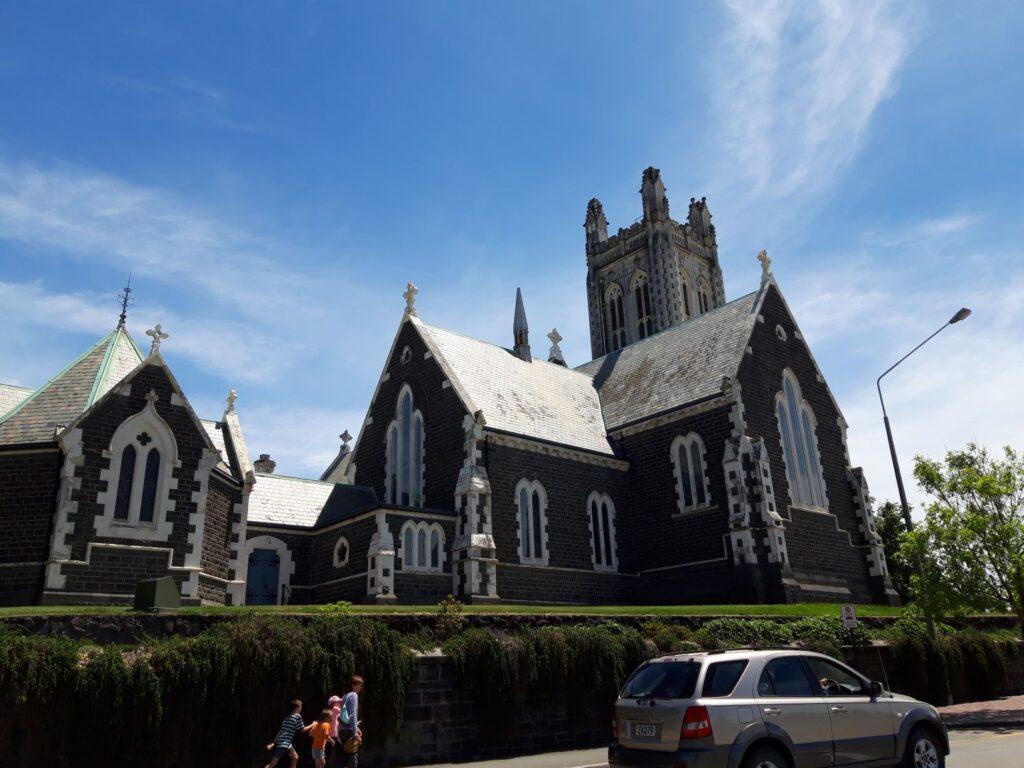20191219_134642 - Neuseeland - Canterbury - Timaru - Anglikanische Kirche - St. Mary's Church - Kirchenturm