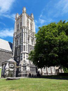 20191219_134943 - Neuseeland - Canterbury - Timaru - Anglikanische Kirche - St. Mary's Church - Kirchenturm