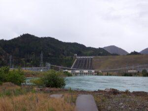 20191220_112317 - Neuseeland - Canterbury - Kurow - Wasserkaftwerk - Lake Benmore - Stausee