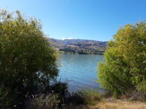 20191223_094622 - Neuseeland - Otago - Cromwell (NZ) - Lake Dunstan Stausee - 45. Breitengrad - südliche Hemisphäre - blauer Himmel