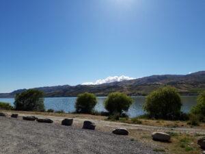 20191223_094901 - Neuseeland - Otago - Cromwell (NZ) - Lake Dunstan Stausee - 45. Breitengrad - südliche Hemisphäre -