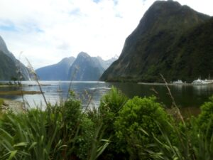 "20191225_111746 - Neuseeland - Fiordland - Te Anau (NZ) - Milford Sound - Berg ""The Elephant"""