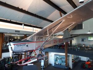 20191226_162350 - Neuseeland - Canterbury (NZ) - Mount Cook Village (NZ) - Sir Edmund Hillary Alpine Centre - Ski Plane Flugzeug