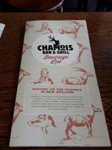 """20191226_170557 - Neuseeland - Canterbury (NZ) - Mount Cook Village (NZ) - Restaurant """"Chamois"""" - Gämse (Rupicapra rupicapra) -"""