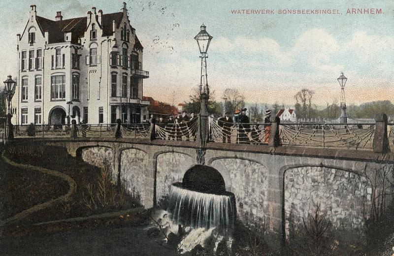 Arnhem - Zicht op Molendal en Bothabrug Waterschap R+IJ archief_6124_Waterwerk-Sonsbeek-2
